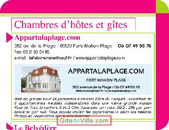 0 : Location Fort-Mahon-Plage