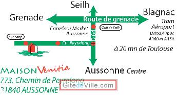 Self Catering Vacation Rental Aussonne 3