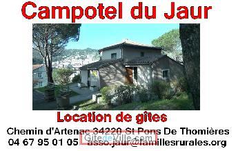 Gîte Saint_Pons_De_Thomieres 1