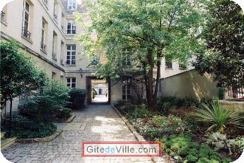 Gîte (et Chambre d'Hôte) Paris 1