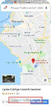 Gîte (et Chambre d'Hôte) Marseille 3